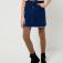 Джинсовая юбка для девочек, цвет голубой индиго