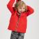 Куртка с капюшоном для мальчиков, цвет красный