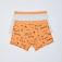 Набор из 2 трусов-боксеров для мальчиков, цвет оранжевый