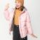 куртка для девочек, цвет темно-розовый