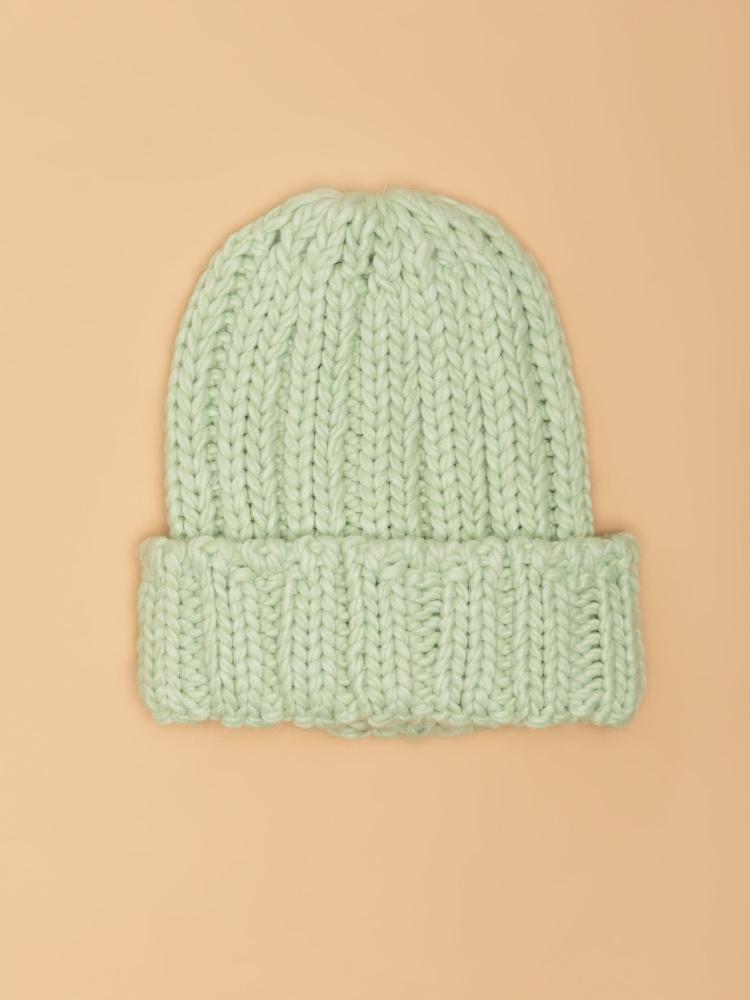 Шапка женская цвет: мятный, артикул: 0810033301 - купить в интернет-магазине SELA