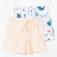 шорты домашние для девочек, цвет мультиколор