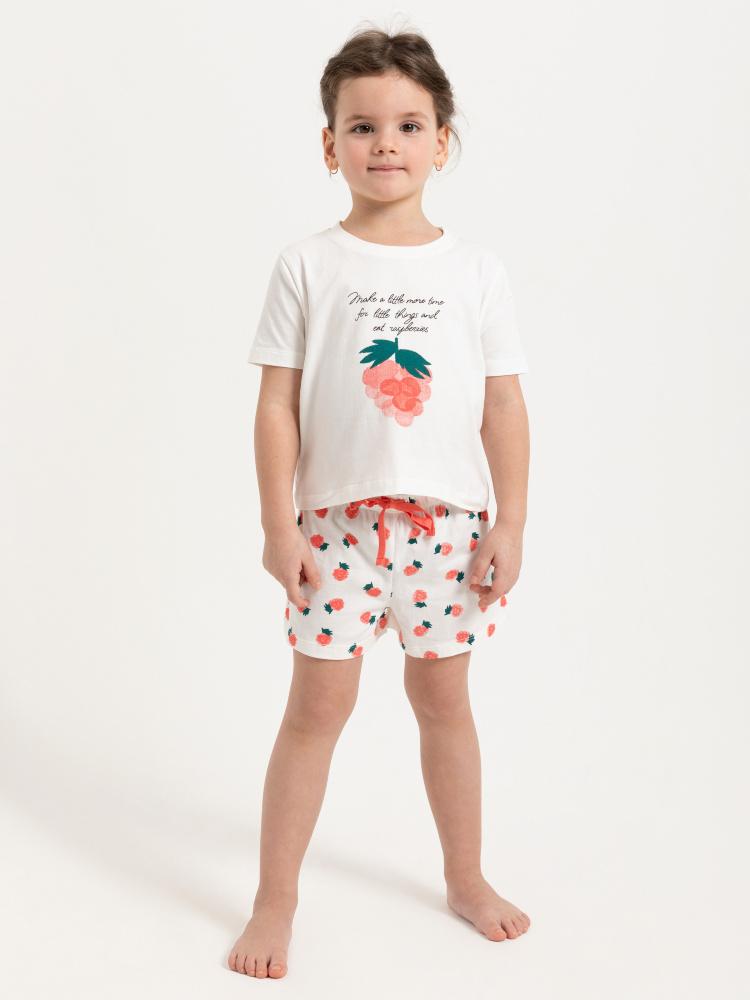 Домашние шорты для девочек цвет: светло-серый, артикул: 0803082210 - купить в интернет-магазине SELA
