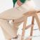 Трикотажные брюки, цвет кремовый/светлый беж