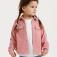 вельветовая рубашка для девочек, цвет розовый