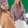 Утепленная куртка-рубашка, цвет лаванда