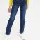 Брюки джинсовые для девочек, цвет тёмно-синий джинс