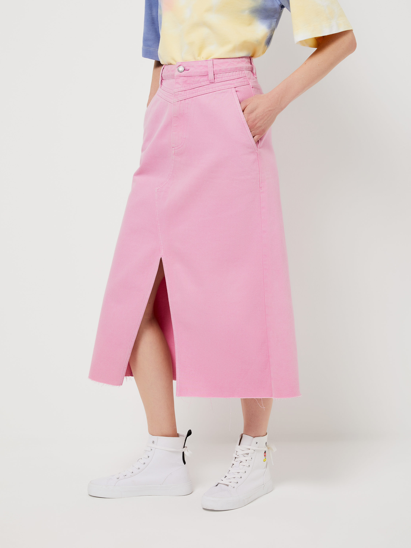 юбка миди с кардиганом