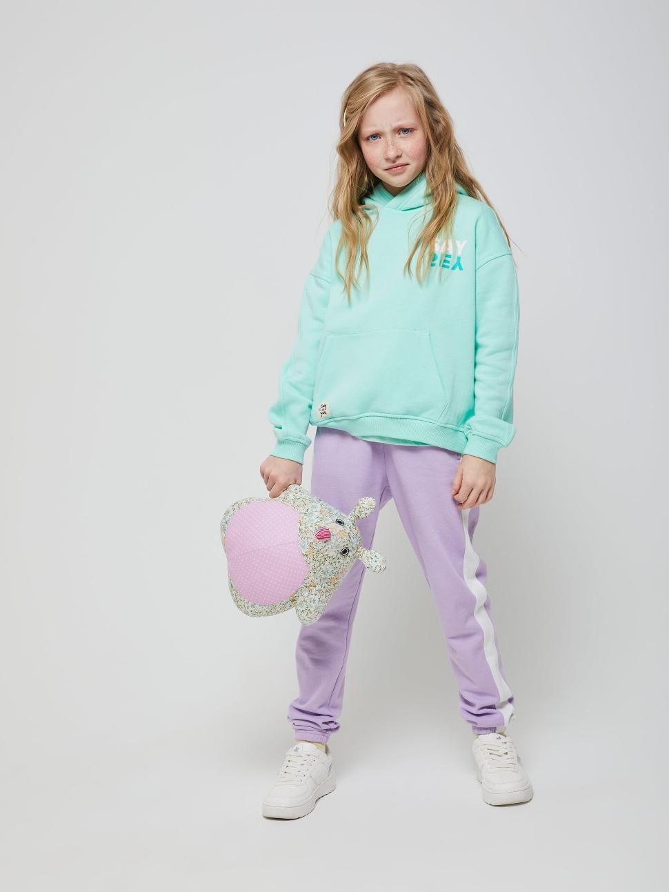 Джемпер для девочек цвет: мятный, артикул: 18020504310 - купить в интернет-магазине sela