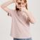 базовая футболка для девочек, цвет светло-розовый