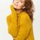 джемпер женский, цвет желтый